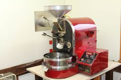 My 1997 IR-3 Diedrich Commercial Coffee Roaster. It is in very good condition and produces excellent roasts.