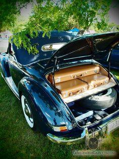 Mercedes Benz 220 Cabriolet A Trunk