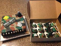 Call of Duty cake www.betniebakes.com