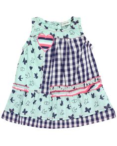Lilly and Sid Peppermint Print Dress
