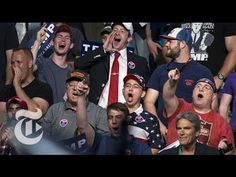 These are the people Hillary Clinton was takking about in Basket of deplorables.. Unfiltered Voices From Donald Trump's Crowds | The New York Times - YouTube