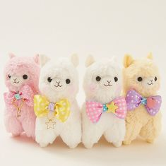 Alpacasso Plushies - Ribbon Collection (Large)