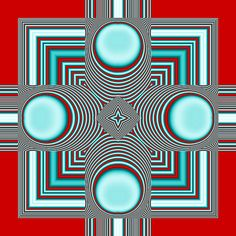 . Cool Illusions, Optical Illusions, Opt Art, Corel Paint, Art Optical, Artwork Design, Design Art, Illusion Art, Paint Shop