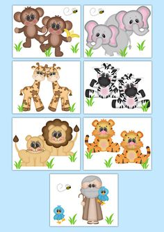 safari nursery decor wallpaper border boy animal wall art decals