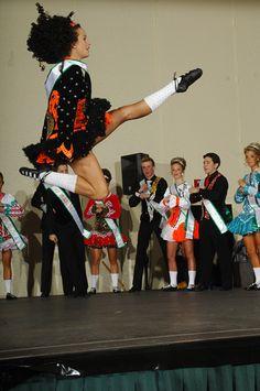 WOW! Inspired. Irish dancer