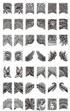 Cheap nail art colors, Buy Quality nail art decoration directly from China nail art kit Suppliers: art templates/big image plates/image plate konad/konad nail stamping plates/stencil nail art/stamping nail template/nai Nail Art Set, Cool Nail Art, Mehndi Designs For Beginners, Nail Art Stamping Plates, Moyou Stamping, Nail Art Images, Lace Nails, Image Plate, Diy Nail Designs