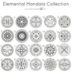 Choose A Mandala And Discover What It Reveals About You