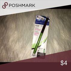 maybelline eyeliner. define a line, maybelline crayon liner. in brownish black. Maybelline Makeup Eyeliner