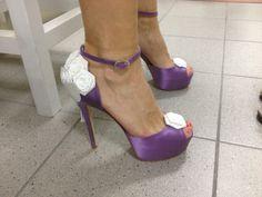 #Ferracuti #scarpesposa #bouquet #weddingshoes #bridalshoes #flower