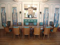 59 Best Art Deco Dining Room Images Interiors Dinner Rh Com