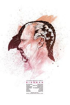 Birdman alternative poster art