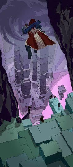 Destiny - Vault of Glass - Illustrstion