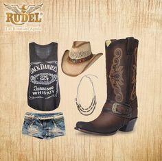 Consigue el mejor estilo con tus #Botas #Rudel