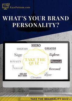 Find out what your BRANDALITY (brand personality) archetype is with this free quiz: http://bit.ly/1Oj6wcp