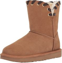 16 cute winter boots to pick out for this years winter wardrobe | UGG Women's Aidah Winter Boot, Chestnut, Popular Winter Boots Cute Winter Boots, Stylish Winter Boots, Short Winter Boots, Winter Fashion Boots, Winter Fashion Casual, Winter Snow, Women's Shoes, Shoe Boots, Ankle Boots