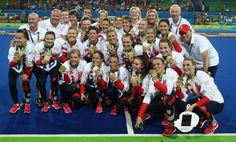 Team GB win women's hockey gold at Rio 2016