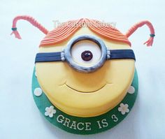 Stuart for Grace - by Mellie @ CakesDecor.com - cake decorating website
