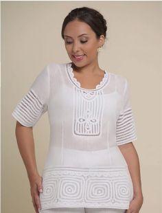 Frixio - Ref Tunic Tops, V Neck, Sewing, Inspiration, Women, Google, Ideas, Fashion, Chemises