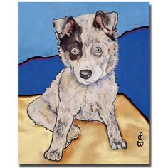 Reba Rae by Pat Saunders-White Painting Print on Wrapped Canvas
