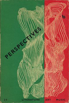 Perspectives #6 cover by Herbert Bayer with typography by Alvin Lustig | Flickr - Photo Sharing!