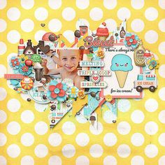 "Photo from album ""Brain Freeze"" on Yandex. Digital Scrapbooking, Brain, Frozen, Ice Cream, Kids Rugs, Album, Yandex Disk, Scrapbook Kit, Happy"