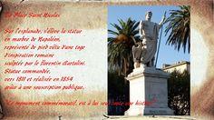 Bastia, la place Saint Nicolas  https://fr.wikipedia.org/wiki/Bastia