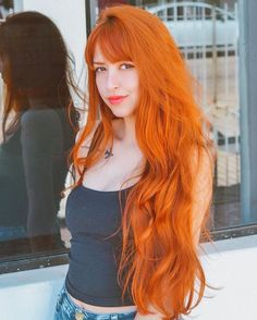 Dextro ™ ❤ redhead beauty ❤ в 2019 г. beautiful red hair, dyed hair и ginge Ginger Hair Color, Red Hair Color, Hair Inspo, Hair Inspiration, Stylish Short Hair, Costume Noir, Fire Hair, Body Wave Wig, Beautiful Red Hair