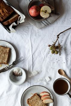 Apple and Ginger Cake   Photography and Styling by Sanda Vuckovic littleupsidedowncake.com
