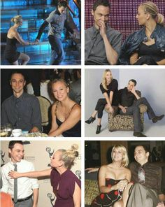 Kaley Cuoco and Jim Parsons - Penny and Sheldon from The big bang theory