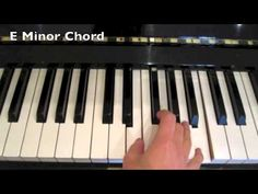 The easiest way to learn chords on the keyboard/piano.Part 1 - YouTube