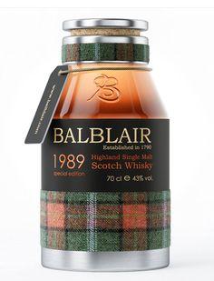 Balblair Scotch Whiskey バランタインキーモルト ゲール語平らな土地の村=戦場 ロス州ドーノック湾
