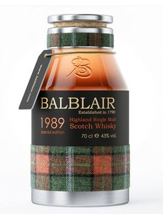 Balblair Scotch Whiskey