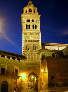 Torre de la Catedral de Teruel (Aragón)