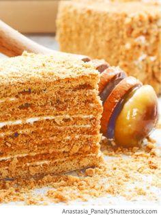 Russische Torte Spartak Rezept Torten Kuchen
