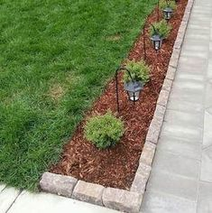 Landscaping Ideas And Renovation 75 Cheap and Easy Front Yard Curb Appeal Ideas - Prudent Penny Pinc Front Yard Walkway, Front House Landscaping, Backyard Landscaping, Natural Landscaping, Backyard Ideas, Backyard Patio, Landscaping Design, Front Yard Fence Ideas Curb Appeal, Front Yard Ideas