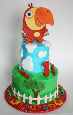 VocabuLarry Birthday Cake - BabyFirst TV