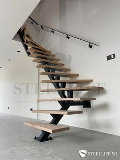 Interior Stairs, Interior Architecture, Dream Home Design, House Design, Future House, Small Studio Apartments, My New Room, Modern Interior Design, Home And Living