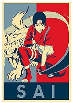 Instabuy Poster Naruto Propaganda Sai - A3 (42x30 cm)