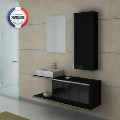 DIS747GT Meuble salle de bain gris taupe | Taupe