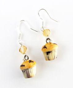 blueberry muffins dangle earrings