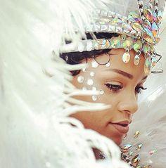 rihanna at carnival in barbados 2013 -