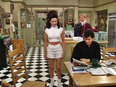 white outfit 90s looks the nanny fran fine fran drescher nanny fine