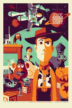 Toy Story, by Tom Whalen