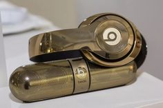Beats flaunts gold version of Studio Wireless headphones and Pill Bluetooth speaker