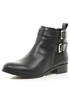 Sherry Flat Double Buckle Chelsea Ankle Boots, http://www.very.co.uk/river-island-sherry-flat-double-buckle-chelsea-ankle-boots/1458318812.prd