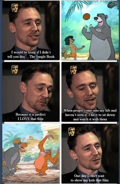 Tom, you're adorable.  I'd lie and say i never saw it just to watch it with him.