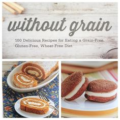 "Our friend @healthstartsinthekitchen just released her new book Without Grain and everything looks SO DELICIOUS. I need these whoopie pies in my life yesterday. Hayley (Ryczek) always has great recipes and this book is impressive. Available online (just search ""Without Grain"" and you'll find it). Congrats Hayley!"