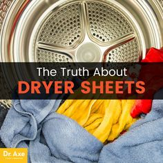 Are your dryer sheets toxic? Ingredients don't have to appear on the label, but scientists use high-tech testing to ID what's really in laundry products. Dizzy Spells, Josh Axe, Wool Dryer Balls, Dr Axe, What To Use, Hormone Balancing, Natural Cleaning Products, Household Products, Back To Nature