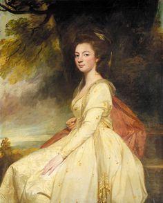 PORTRAIT OF ELIZABETH CHAFYN-GROVE (1756-1832), 1779, by George Romney (1734-1802)