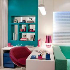 O Hobby da Mãe, das arquitetas Cristine Ângelo Boing e Fernanda Carlin da Silva, faz parte do Apartamento Casa Cor. Em Florianópolis, a Casa Cor Santa Catarina 2012.